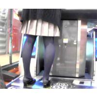 ゲーム中の嫁のタイツ脚