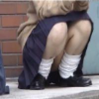 〜その�〜マ○毛! 制服J○ パンツ盗撮風動画