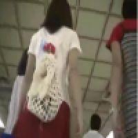 〜その34〜J〇&お姉さん パンツ盗撮風動画