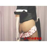 コスプレ男の娘のゴシックワンピース&メイド服オナニー★オリジナル