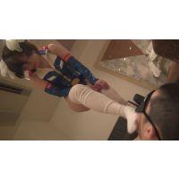 【足コキ】 レイコ・ホリンジャーのコスのロリ娘にボコボコにされました 【ビンタ】
