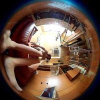 【こんな動画見たことない】360度カメラで撮影したパンチラ