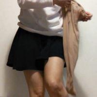 【自撮りフェチ動画】普段着/脚/パンスト着替え観賞のススメ