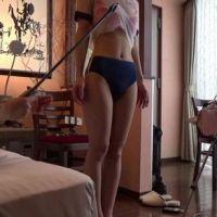 透け体操服&ブルマー女性を立ったままマジックハンドやローターで攻める。(前半)