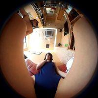 スク水で『女体の神秘』シリーズを撮影した時に股間から撮った360度カメラの動画