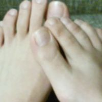 【Self-portrait camera de posted video】 Sister's leg / side feet