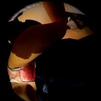 セーラー服の女王様(生理中)に脚踏み・顔面騎乗・手コキをしていただきました![360度カメラ動画]
