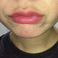 【唇・口・舌・歯フェチ】素人美人の口をアップ撮影してみた