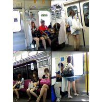 ギャル電車撮り 011-013