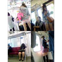 ギャル電車撮り 017-019