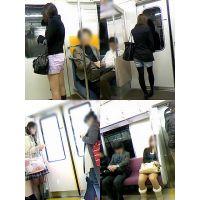 ギャル電車撮り 020-022