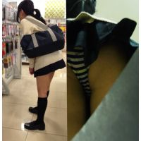 記録動画 〜制服K日記〜 清純アイドル顔Kのお買いものを色んな角度から盗み見