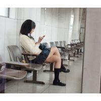 記録動画 制服K対面パンチラ  〜制服K日記15〜