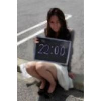 【美人時計】 美人時計の撮影+アンケート調査  対面パンチラ