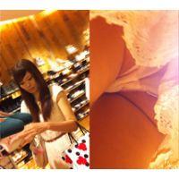 【フルHD高画質!】 清楚なお嬢さんの食い込み純白パンティ Vol.22 【特別価格】