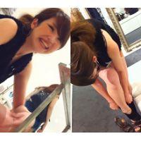 【フルHD高画質!】 美人ショップ店員さんのパンティえぐり撮り Vol.29 【特別価格】