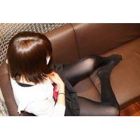 高校卒業したて超美少女☆タイツ・ストッキング写真集☆久美子9(黒タイツ)最終章