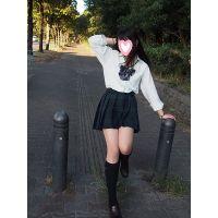 大幅増量!232枚!スレンダー美少女19歳大学生!制服・パンスト・黒タイツ!