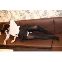 高校卒業したて超美少女☆タイツ・ストッキング写真集☆久美子5(黒タイツ)