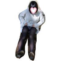 高校卒業したて超美少女△制服+黒タイツ+肌色パンスト△ま8(サービスショット)