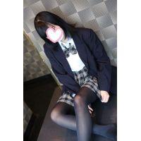 美脚タレント!A○B研究生系♡初々しい18歳制服や私服で(黒タイツ)2
