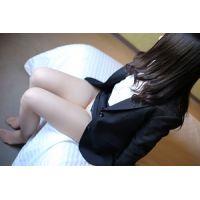 【高画質】18歳!童顔!学生!パンツモロ見え!まちこ1☆リクスー編