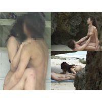【具○堅さん投稿】沖縄県某プライベートビーチで盗撮 part1〜3【いいさー】