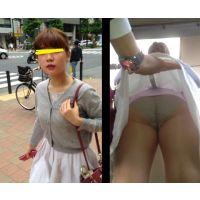 part20【OL狙いうちめくり】奥義スカートめくりパンチラ