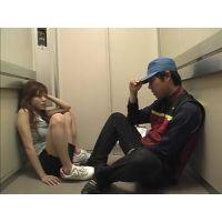 強制レイプマニア!エレベーター内で襲われる女子大生