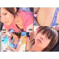 【セット販売】胸チラかわいい乳首!水着からポロリ