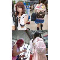 コスプレイヤー逆さ撮り06-07 【セット販売】