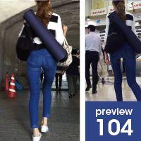 【104】西洋人モデルばりのスタイリッシュボディー!長身スレンダー系スキニージーンズ女子(屋外編)