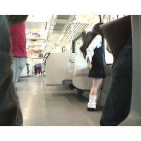 電車で痴漢撮影とは聞いてたけどココまでされるって聞いてない(T_T)