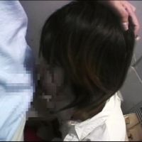 Pervert rXXe Japanese amateur girl in the toilet of the train