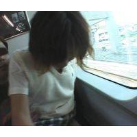 JKコスプレして電車で痴漢されるだけの簡単なお仕事で高収入その場で