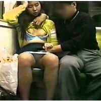 訳あり若妻むっちりパンスト素人が電車で痴漢Vに内緒で出演ガチです