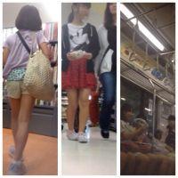 女の子の健康的な脚その3