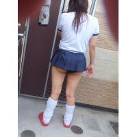 【動画&画像】 JKミニスカ 紺ブルマ Jカップ爆乳ギャル姉さん1