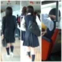 オリジナルな逆さ撮り vol.20(制服娘編)