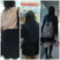 オリジナルな逆さ撮り vol.24(制服娘編)
