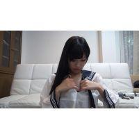 セーラー服黒髪美少女がオナニーをネットで公開してるよ