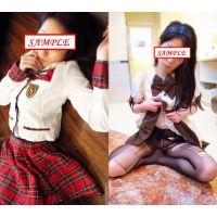 <女子大生シリーズ>AK●48の衣装やメイド服が良く似合う清楚な女子大生「ちか20歳」〜イラマチオにアナル舐め、ご奉仕の仕方教え