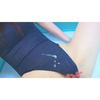 「競泳水着マニア」ピタピタの水着とプールでイクSEX!02