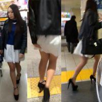 【盗撮】生意気系ギャル→スカートめくりがバレて全力逃走w