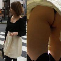 【盗撮】超キレイなお姉さんの超過激Tバッグ撮影!
