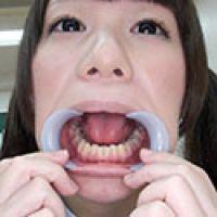 【歯フェチ】ロリっ娘小西まりえちゃんのお口の中を拝見!!