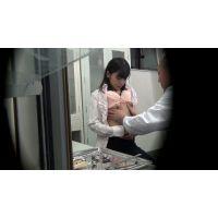盗撮風 貧乳で悩める女子をだましてSEX治療3
