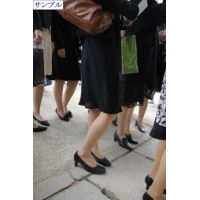 入卒業式ママさんパンスト姿22
