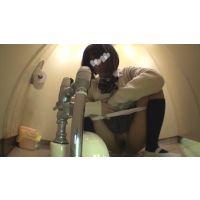 現代っ子◆男女共学校の個室の固定カメラ映像