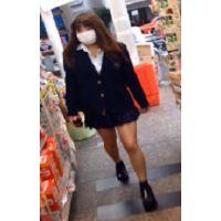 【生意気系】薬局で見かけた女子〇生を追いかけ回し盗撮・